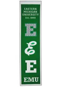 Eastern Michigan Eagles 8x32 Heritage Banner