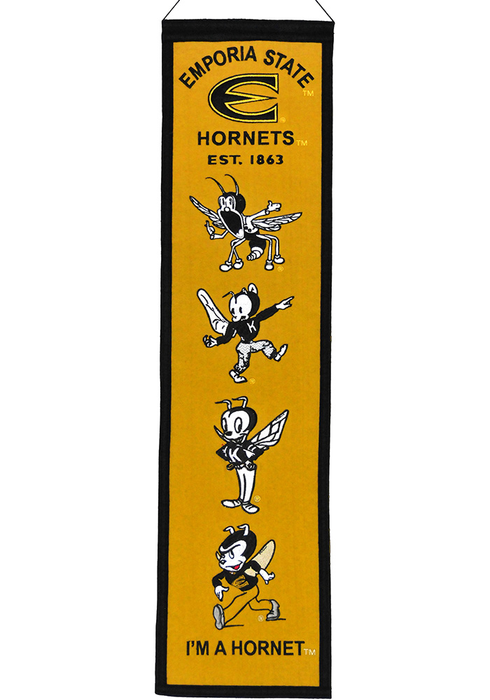 Emporia State Hornets Heritage Banner - Image 1