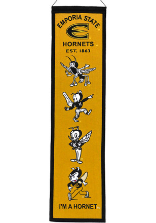 Emporia State Hornets Heritage Banner