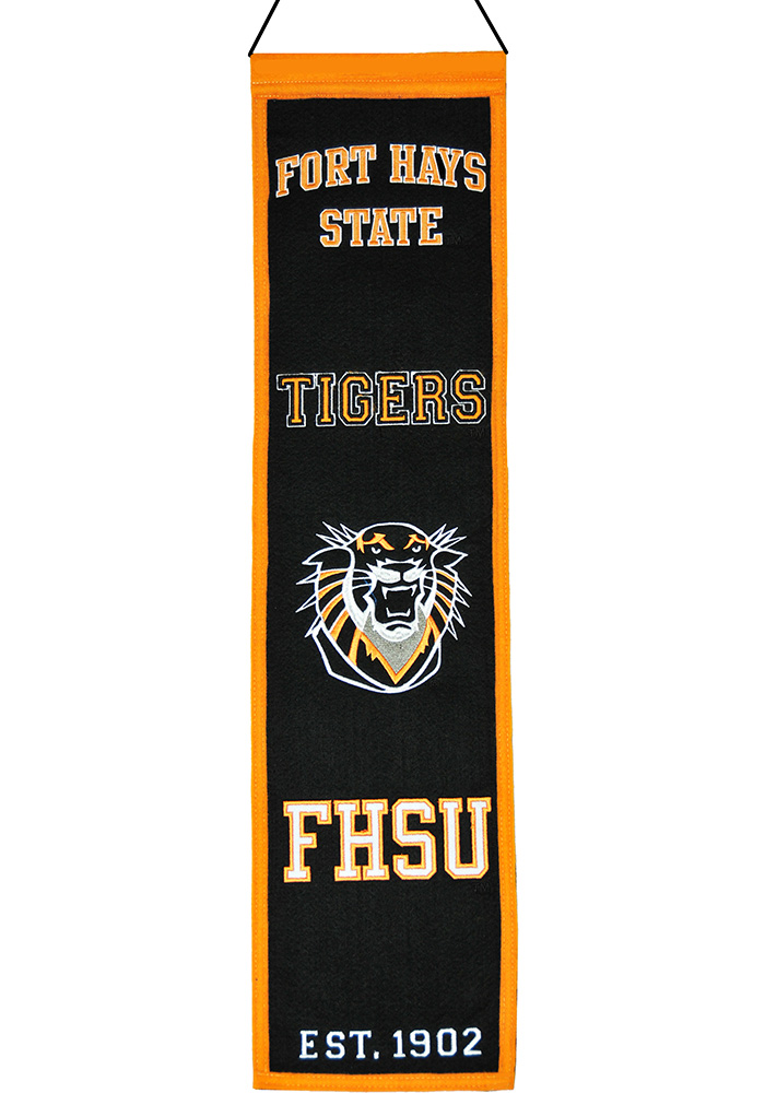 Fort Hays State Tigers 8x32 Heritage Banner