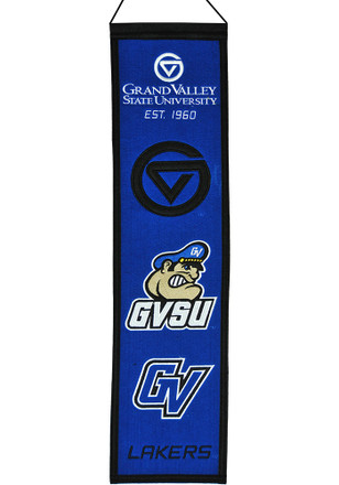 Grand Valley State Lakers 8x32 Heritage Banner