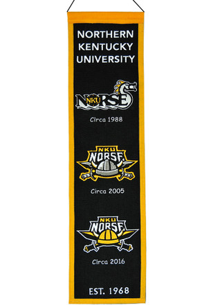 Northern Kentucky Norse 8x32 Heritage Banner