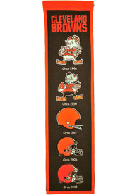 Cleveland Browns 8x32 Heritage Banner