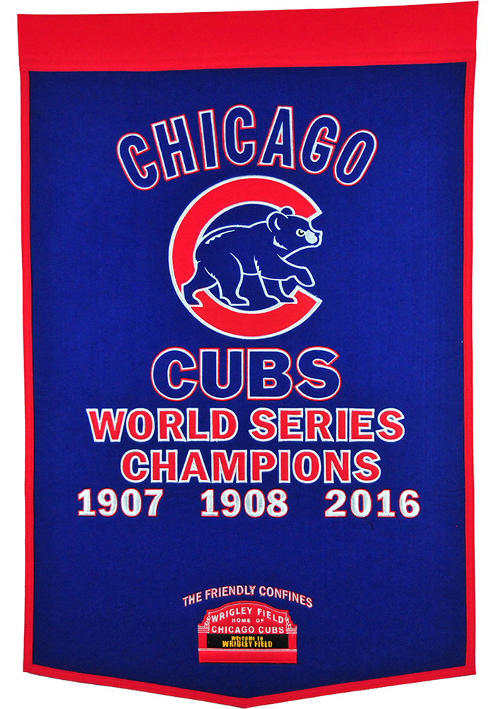 Bon Chicago Cubs 24x38 Dynasty Banner