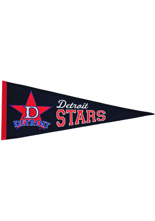 Detroit Stars 13x32 Tradition Medium Pennant