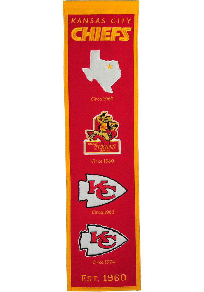 Kansas City Chiefs 8x32 Fan Favorite Banner - Image 1