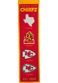 Kansas City Chiefs 8x32 Fan Favorite Banner