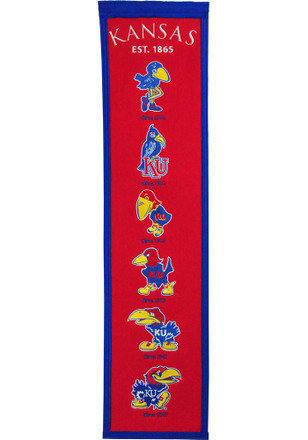 Kansas Jayhawks 8x32 Fan Favorite Banner