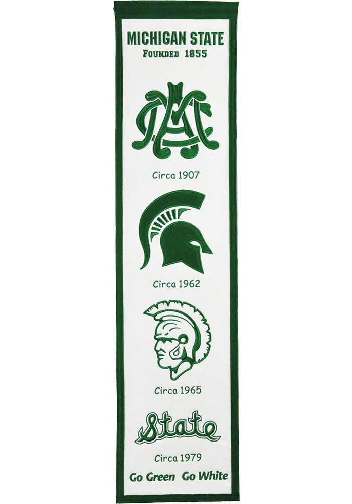Michigan State Spartans 8x32 Fan Favorite Banner - Image 1