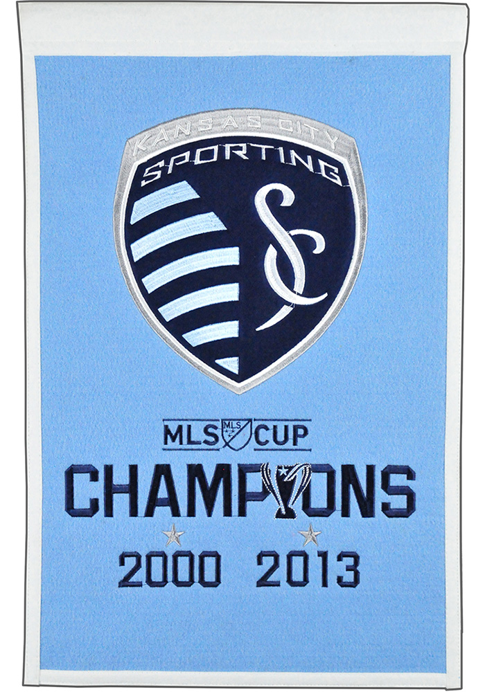 Sporting Kansas City 14x22 Champs Banner - Image 1