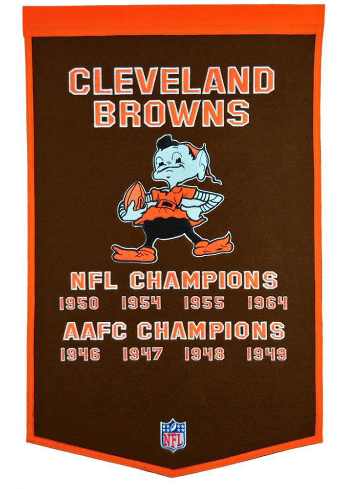 Cleveland Browns Dynasty Banner - Image 1