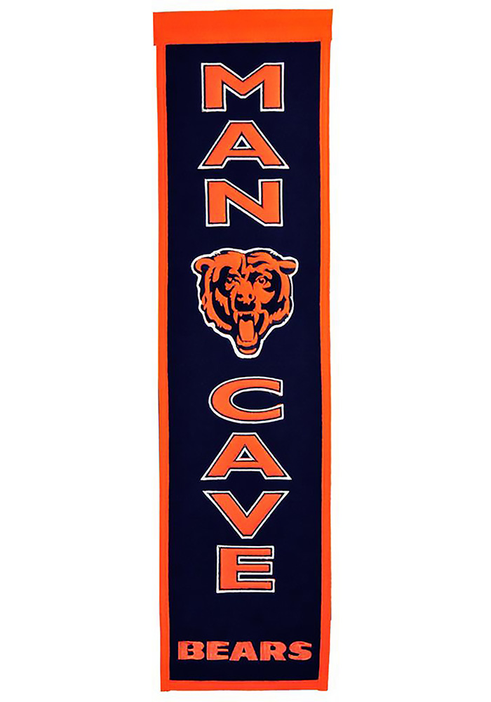 Chicago Bears Man Cave Banner - Image 1