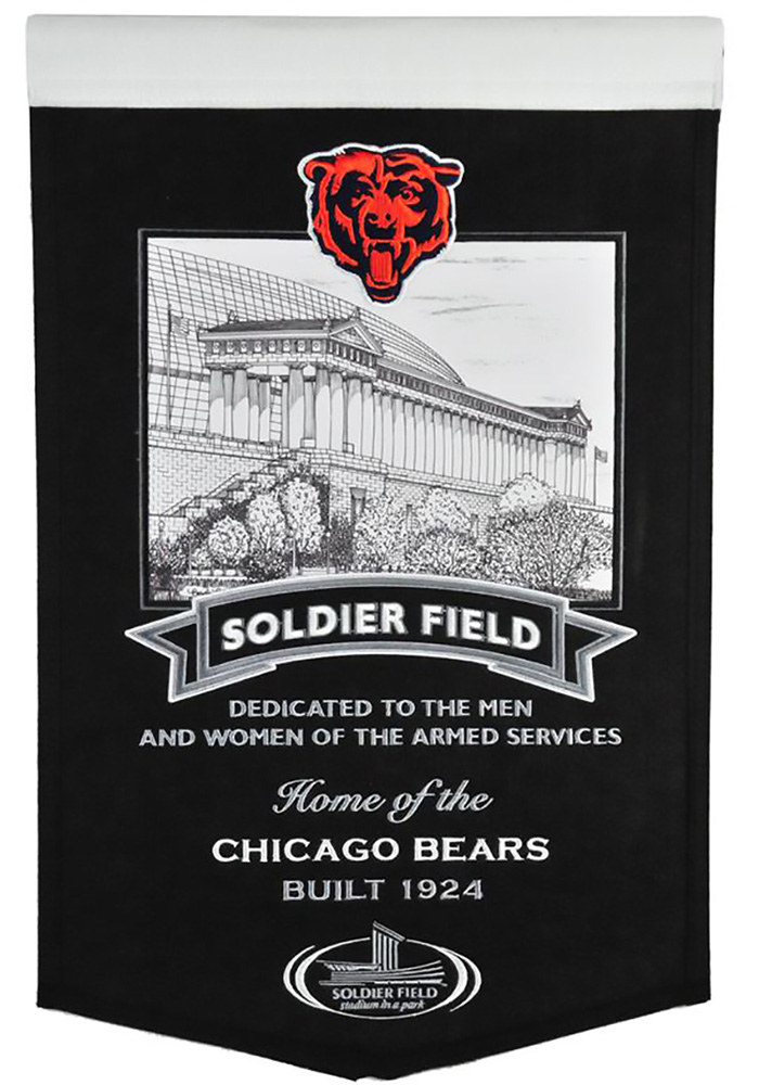 Chicago Bears Soldier Field Banner - Image 1
