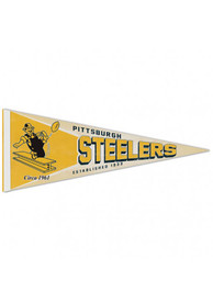 Pittsburgh Steelers 12x30 inch Retro Pennant