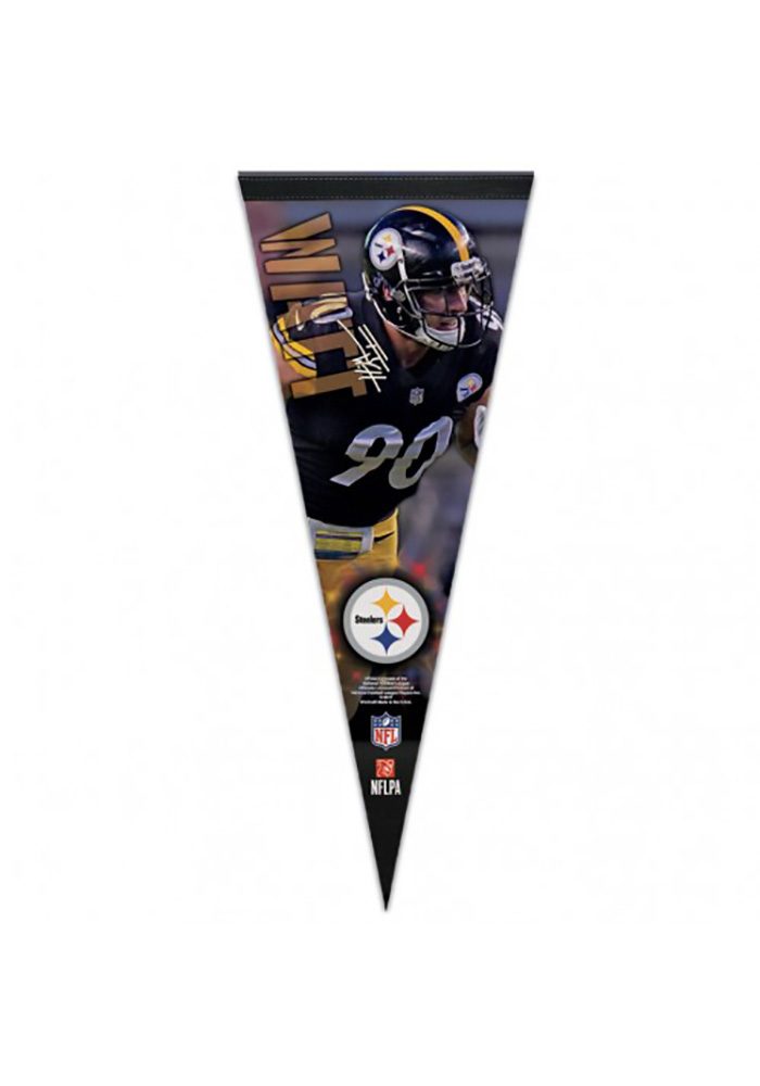 Pittsburgh Steelers 12x30 Pennant - Image 1