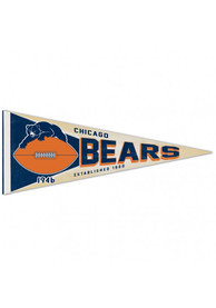 Chicago Bears 12x30 inch Pennant