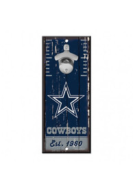 Dallas Cowboys 5x11 inch Bottle Opener Sign