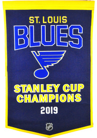 St Louis Blues 2019 Stanley Cup Champs 24x38 Dynasty Banner