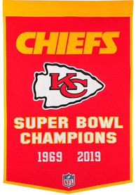 Kansas City Chiefs Super Bowl LIV Champions Dynasty Banner