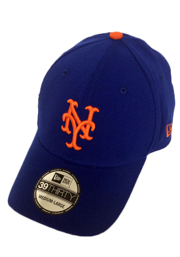 New Era New York Mets Mens Blue Game Team Classic Flex Hat - Image 1
