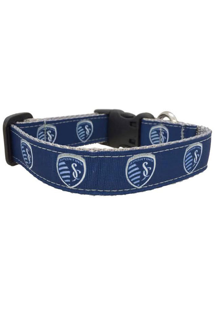 Sporting Kansas City Navy Pet Collar - Image 1