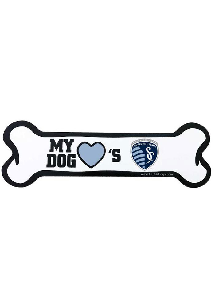 Sporting Kansas City Bone Pet Magnet - Image 1