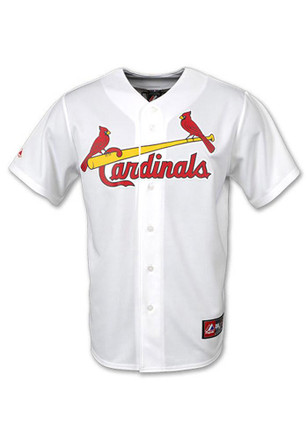 Yadier Molina Outer Stuff St Louis Cardinals Kids White Youth Molina Replica Baseball Jersey
