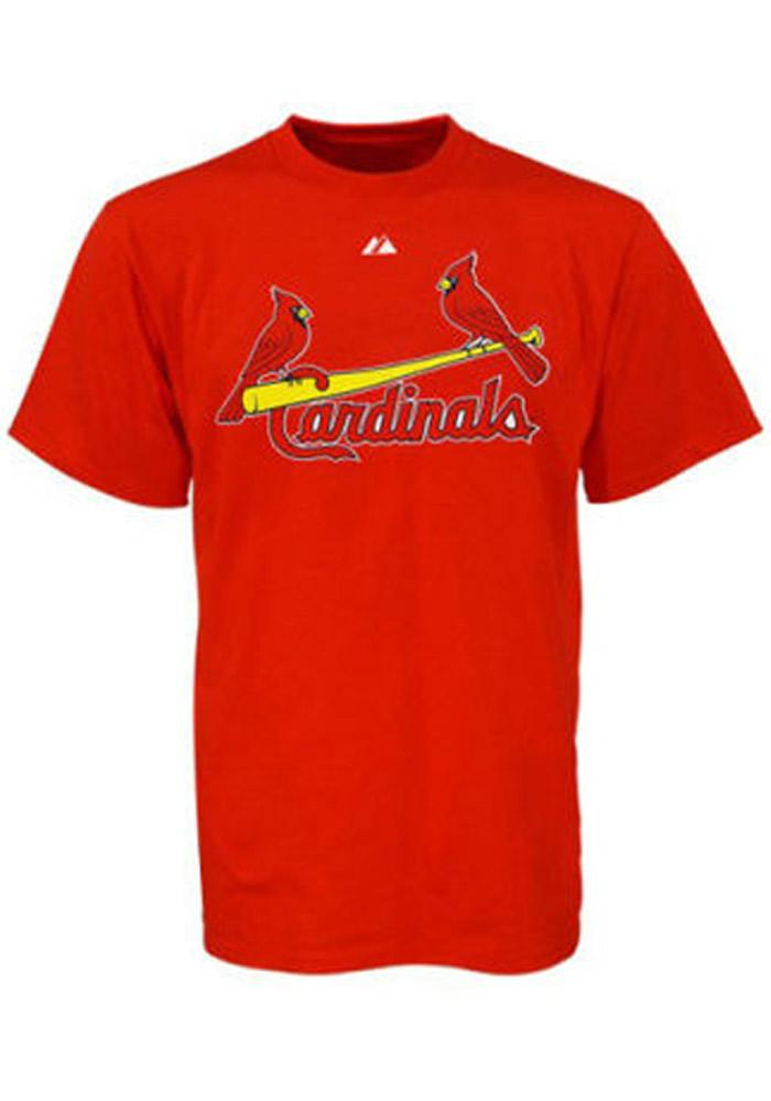 Yadier Molina St Louis Cardinals Youth Red Youth Molina Player Tee - Image 2