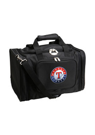 Texas Rangers Expandable Duffel Gym Bag - Black