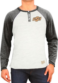 Original Retro Brand Oklahoma State Cowboys White Logo Fashion Tee
