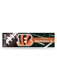 Cincinnati Bengals 3x11 Bumper Sticker - Black