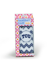 TCU Horned Frogs Chevron iPhone 5/5s Phone Cover