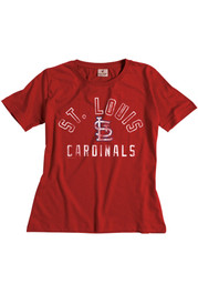 St Louis Cardinals Youth Red Youth Basic T-Shirt