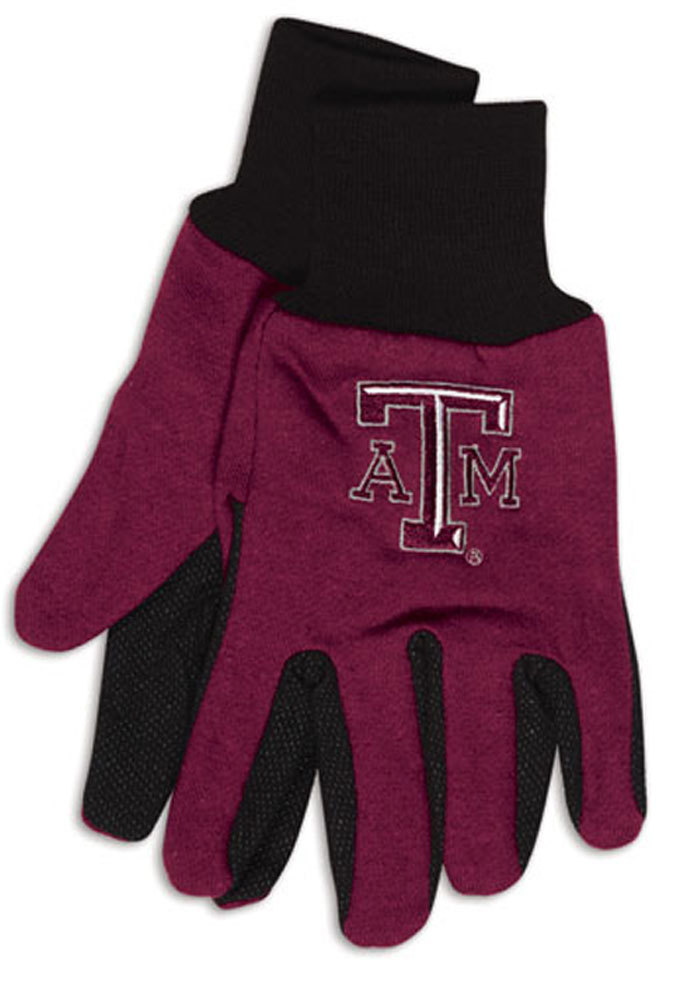 Texas A&M Aggies Sport Utility Mens Gloves - Image 1