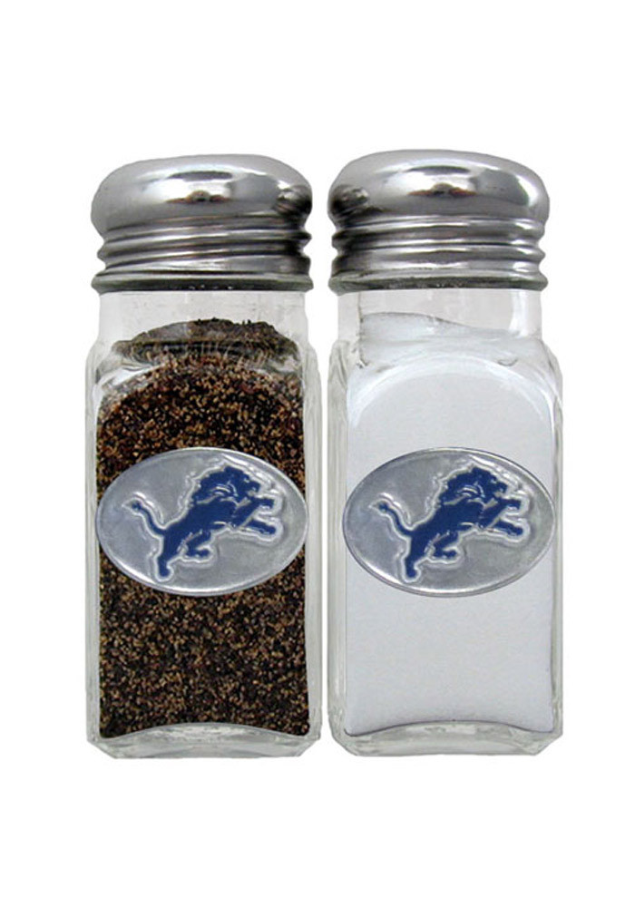 Detroit Lions Glass Salt and Pepeper Set - Image 1