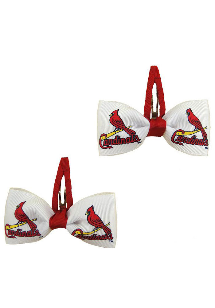 St Louis Cardinals Clippies Baby Hair Barrette - Image 1