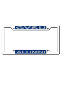 Grand Valley State Lakers Alumni Chrome License Frame
