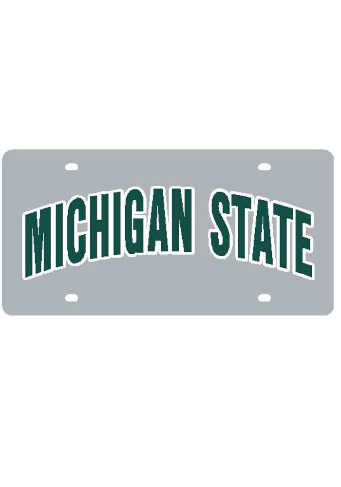 Michigan State Spartans Arched Car Accessory License Plate