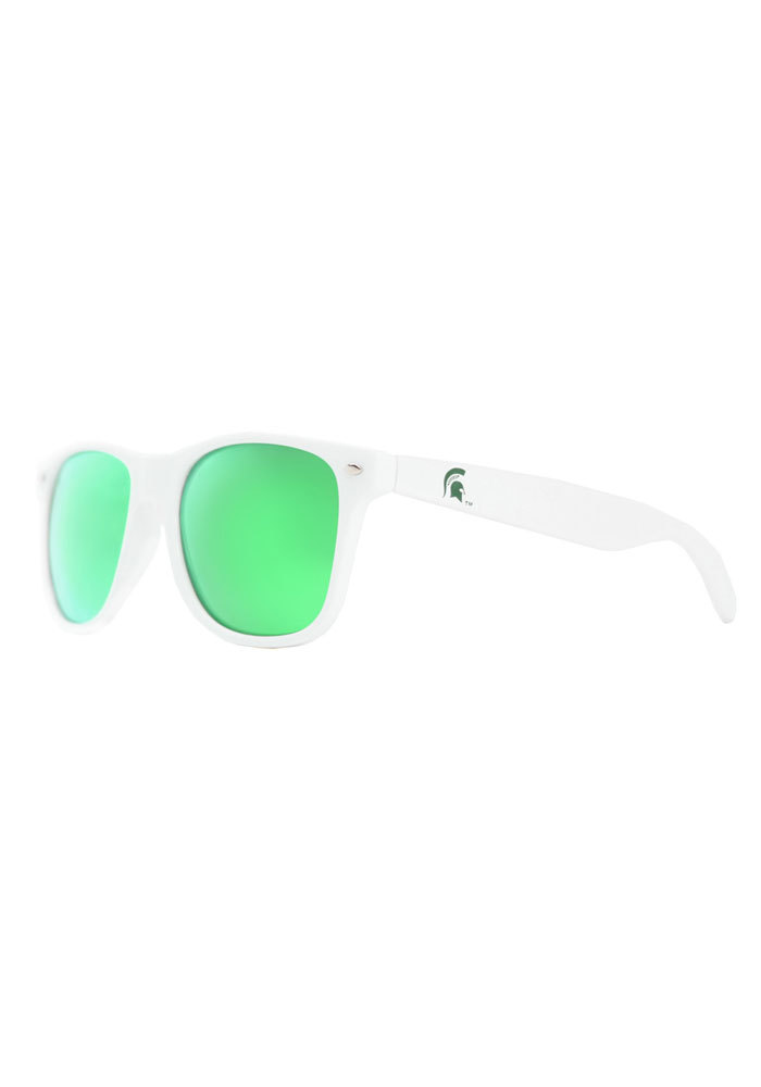 Michigan State Spartans Throwback Mens Sunglasses - Image 1