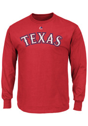 Texas Rangers Youth Red Youth Rally Loud T-Shirt