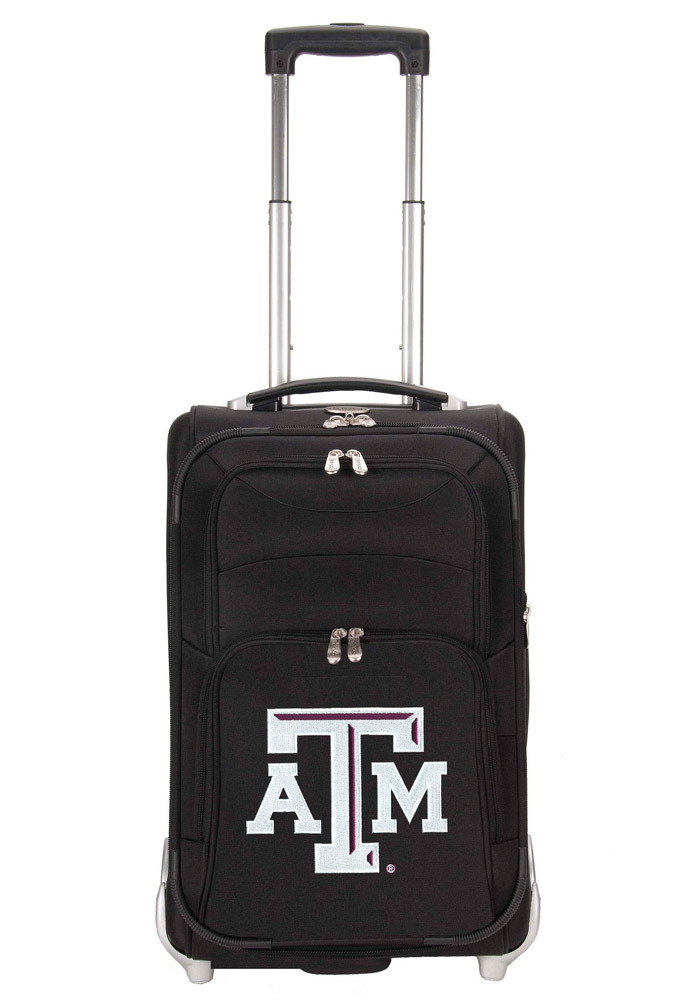 Texas A&M Aggies Black Carry On Luggage 19640089