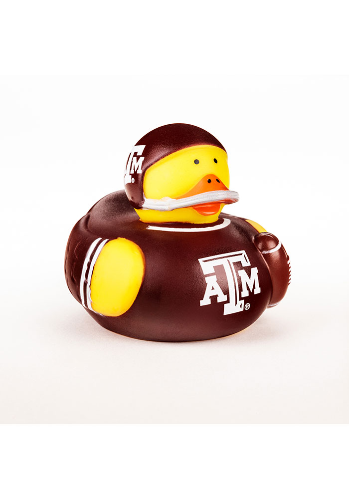 Texas A&M Aggies 4inch Rubber Baby Bath Accessory - Image 1