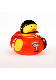 Texas Tech Red Raiders Baby 4inch Rubber Bath Accessory - Yellow