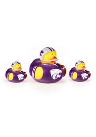 K-State Wildcats Baby 3pk Rubber Bath Accessory - Yellow