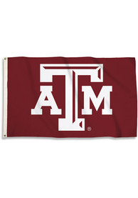 Texas A&M Aggies 3x5 Basic Logo Maroon Silk Screen Grommet Flag