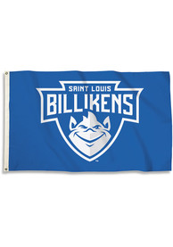 Saint Louis Billikens 3x5 Basic Logo Blue Silk Screen Grommet Flag