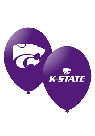 K-State Wildcats 11 Inch 10 Pack Latex Balloon