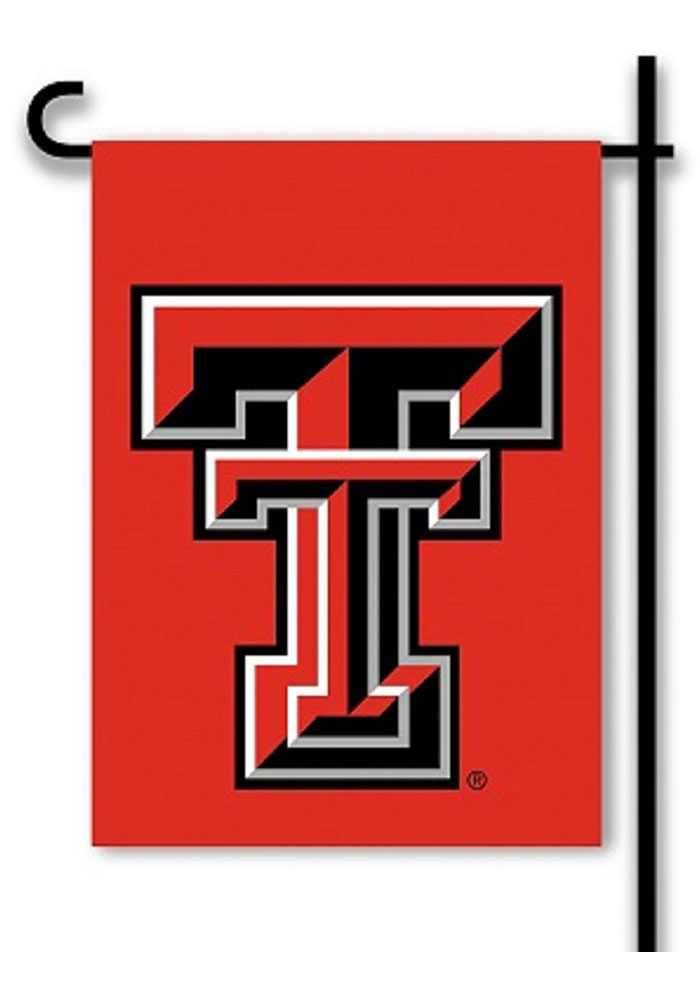 Texas Tech Red Raiders 13x18 Red Black Garden Flag - Image 1