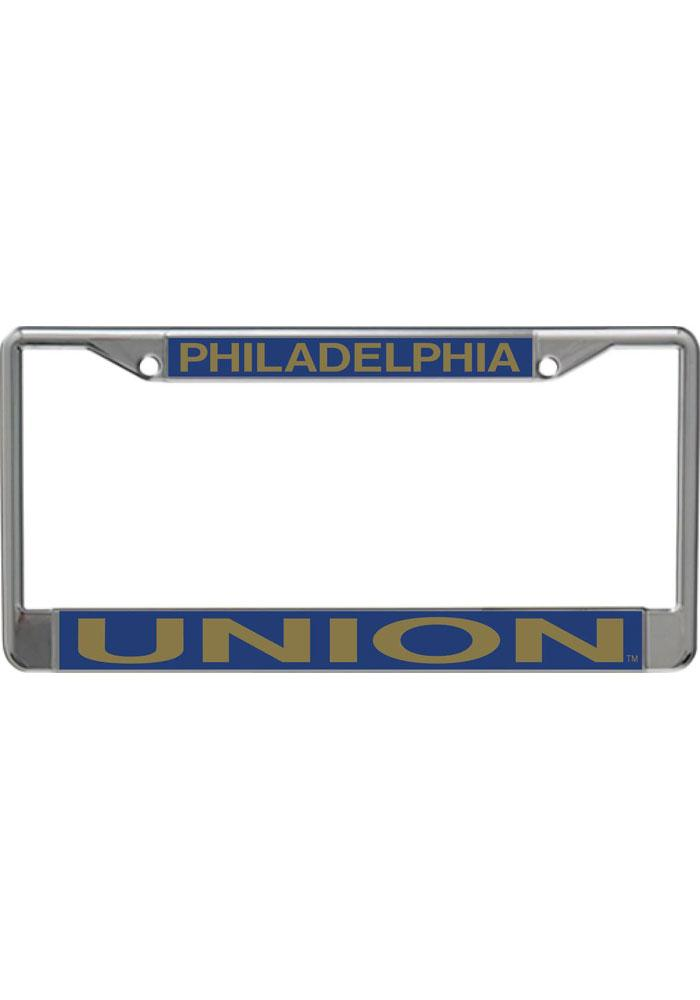 Philadelphia Union Team Name Chrome License Frame