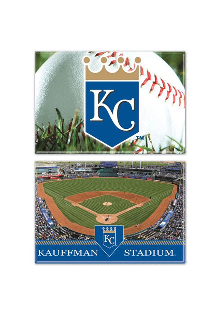Kansas City Royals 2 Pack Field Magnet - Image 1